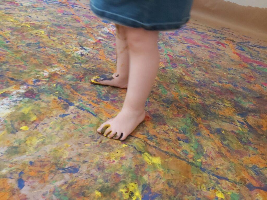 Els peus més petits deixen les petjades més grans
